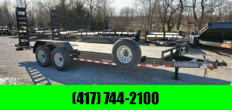 2019 Load Trail 83X20 (18+2) TANDEM 14K EQUIPMENT HAULER W/STAND UP Ramps
