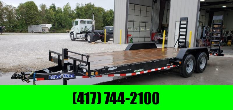 2019 Load Trail 83X22 TANDEM 14K EQUIPMENT TRAILER W/STAND UP RAMPS