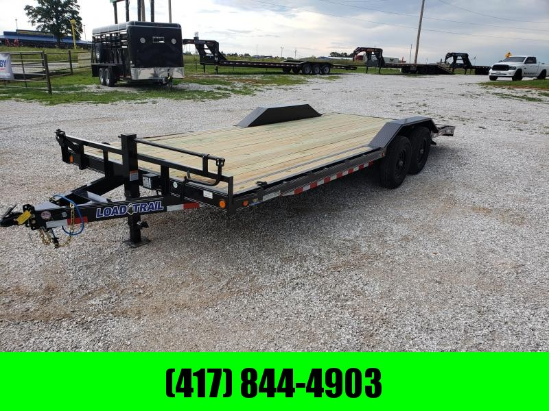 2019 LOAD TRAIL 102X22 TANDEM CARHAULER W/ DRIVE OVER FENDERS