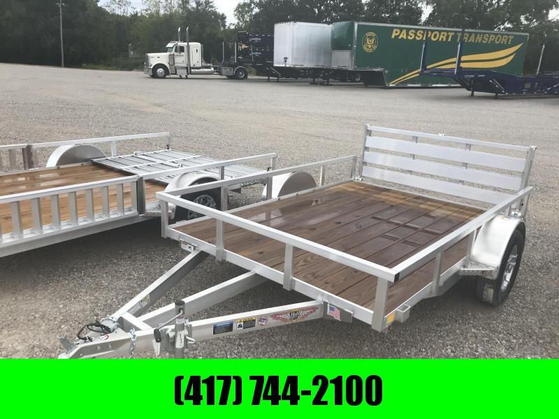 2018 H and H Trailer 82x10 Utility Trailer W/BI-FOLD GATE
