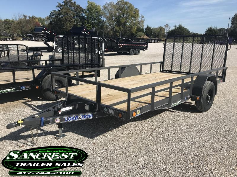 "2019 Load Trail 83X14 SINGLE AXLE Utility Trailer W/5200# AXLE  4"" CHANNEL FRAME AND ELEC BRAKE"