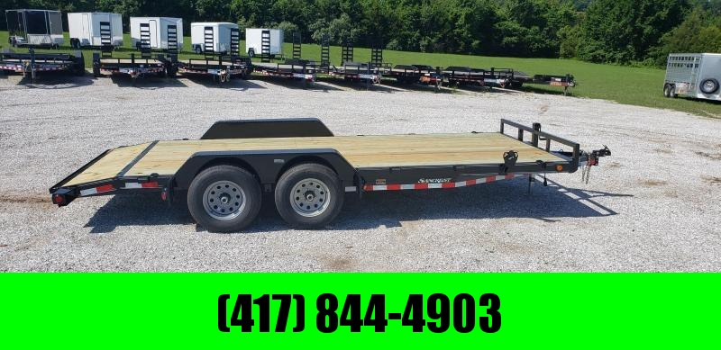 2019 LOAD TRAIL CARHAULER 83 X 18 W/ 5200LB AXLES