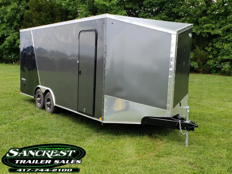 2019 Impact Trailers Cargo Trailer SLANT WEDGE FRONT 8.5 X 20