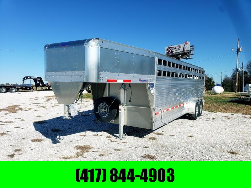 2019 EBY Maverick ( FREEDOM PLUS ) 24' X 6'11'' X 6'6'' GOOSENECK TRAILER