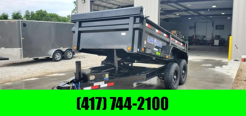 2019 Load Trail 72X12 TANDEM DUMP W/5200 AXLES
