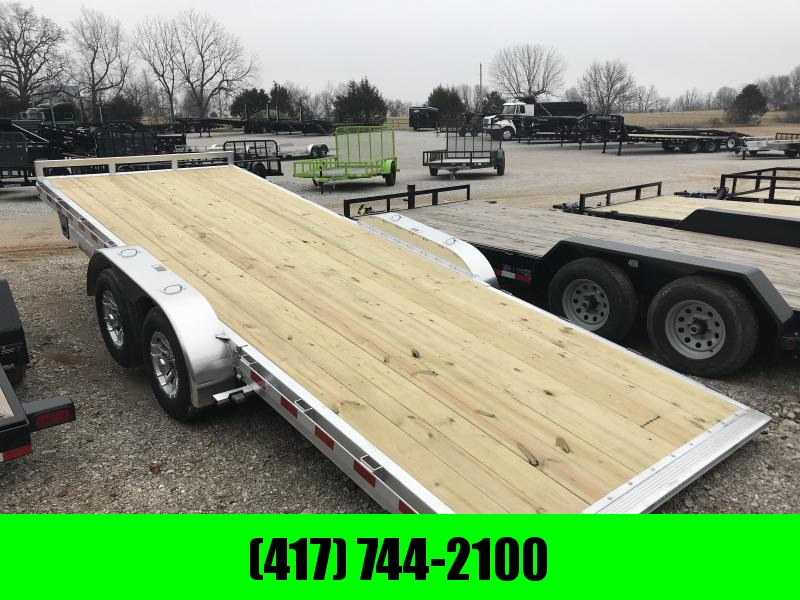 2019 H&H 82X20 MANUAL SPEEDLOADER MX EQUIPMENT Trailer W/5200 AXLES