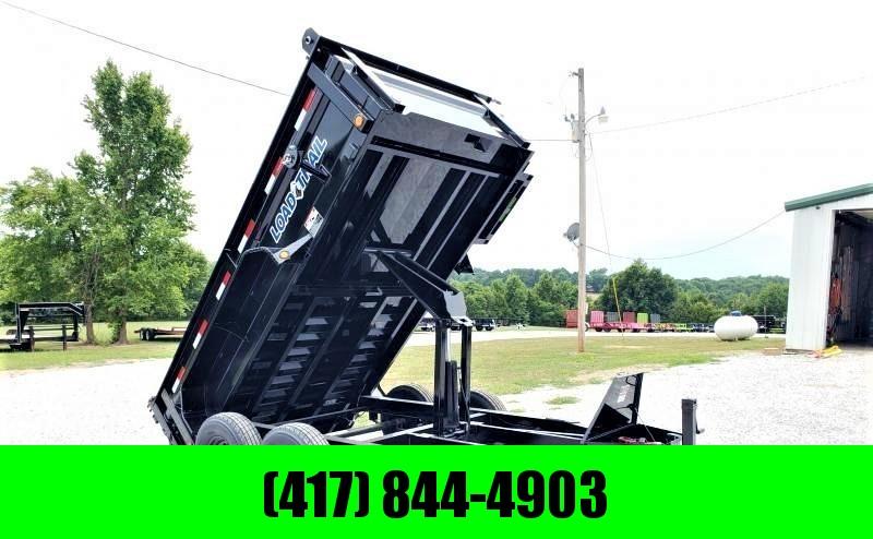 """2019 Load Trail 72"""" x 12' Tandem Axle Dump"""