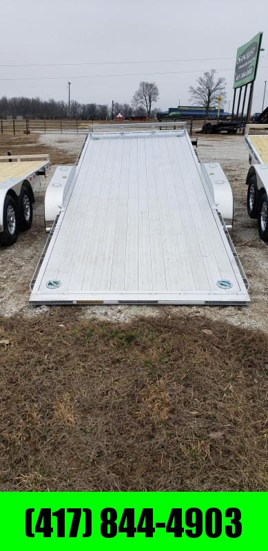 2019 H&H ALUMINUM 82 X 20 10K HYDRAULIC SPEEDLOADER EX W/5200 AXLES AND EXTRUDED DECK