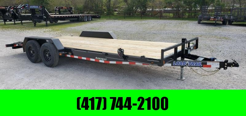 2020 Load Trail 83x20 TANDEM 10K CAR HAULER W/SLIDE-IN RAMPS
