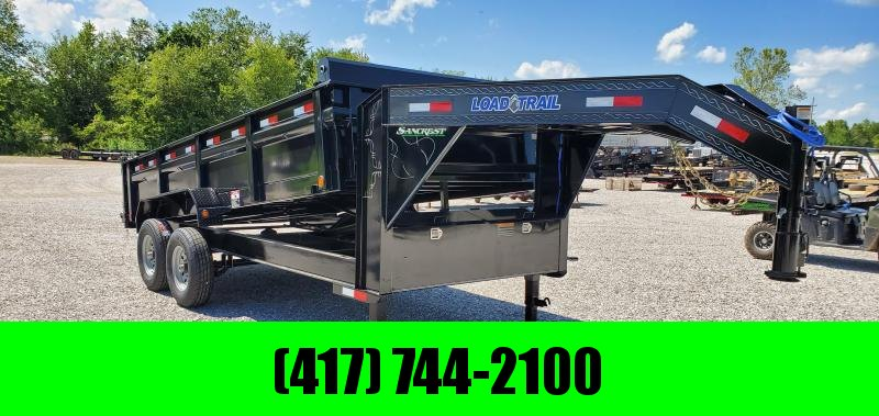 2019 Load Trail 83x16 TANDEM DUMP W/7K AXLES