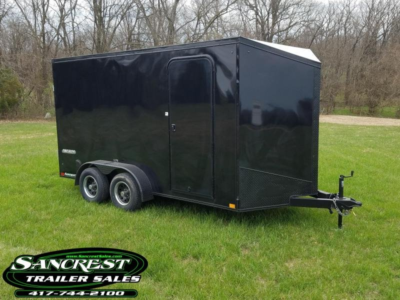 2019 Impact Trailers Enclosed Cargo Trailer (BLACK OUT) 7 X14