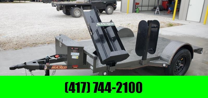 2020 MAXXD 61X10 GRAY METALLIC WELDING TRAILER W/STEEL FLOOR