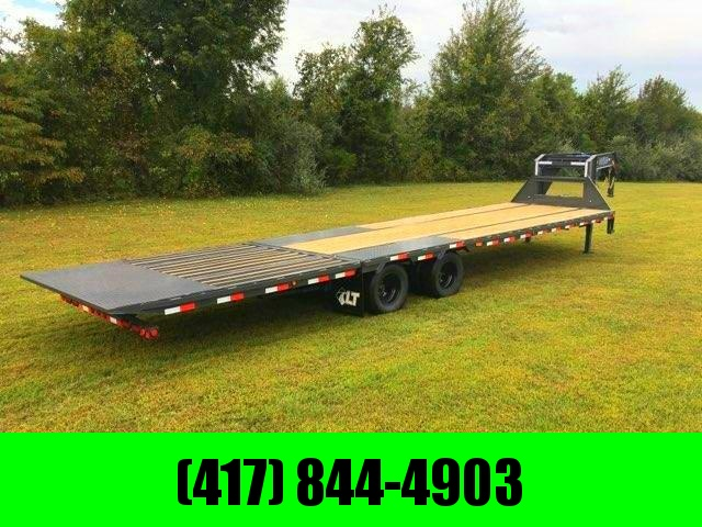 2020 LOAD TRAIL 102X34 TANDEM LO-PRO GRAY GOOSENECK W/10K AXLES HYDROTAIL AND HYDROJACKS