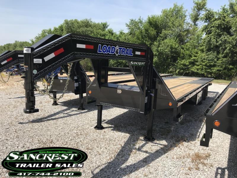 2018 Load Trail 102X30 GOOSENECK W/HYDRO TAIL/JACKS