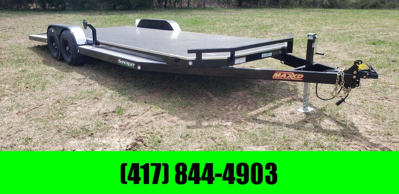 2019 MAXXD 83 X 22 (N5X) CAR HAULER STEEL FLOOR 5200LB AXLES