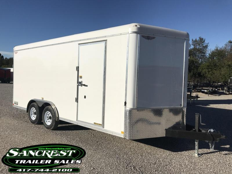 2019 H and H Trailer 8x18 7