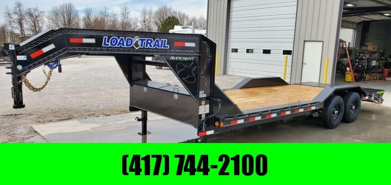 2020 Load Trail 102X22 TANDEM 14K GOOSENECK CAR/EQUIPMENT HAULER W/MAX RAMPS
