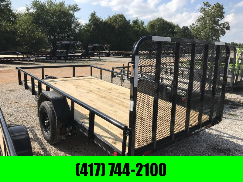 "2019 Load Trail 83x14 Utility Trailer w/5200 axle and 4"" CHANNEL FRAME"
