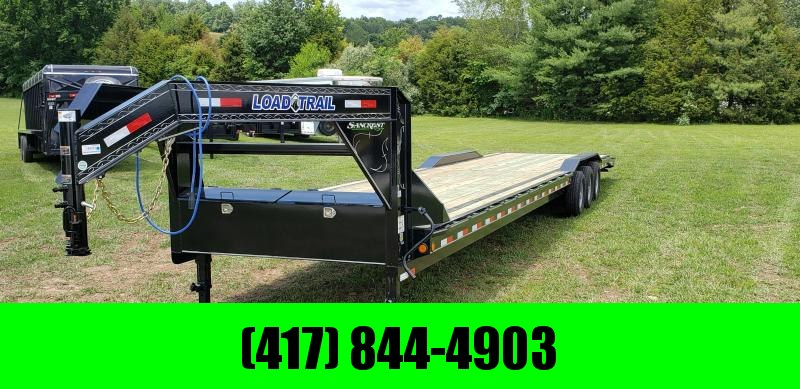 "2019 Load Trail 102"" x 40' Triple Gooseneck Carhauler w/ 3 - 7ks axles"