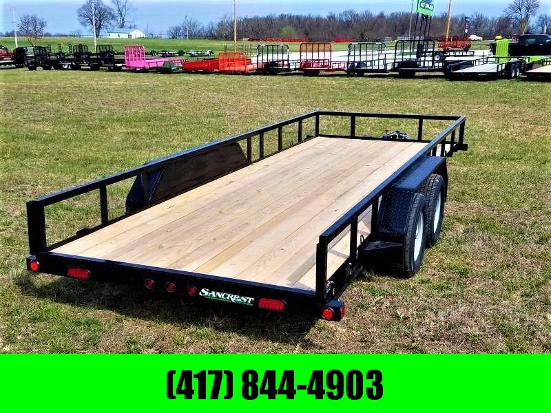 "2019 Load Trail  77"" x 18' Tandem Axle Utility Trailer"