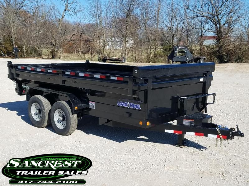 2018 Load Trail 83x14 King Bed Dump Trailer