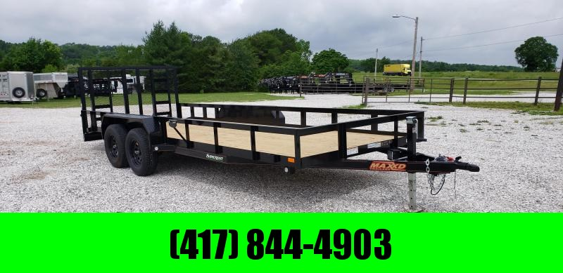 2019 MAXXD 20 X 83 UTILITY TRAILER W/ 2'  DOVE 4' HEAVY DUTY GATE