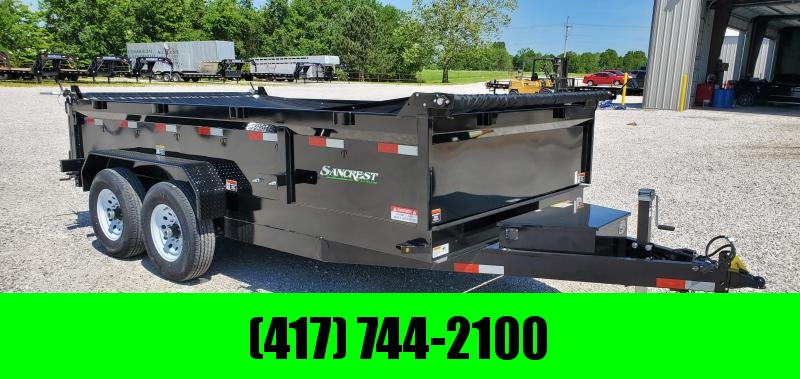 2019 H and H Trailer 83X14 Dump Trailer W/7K AXLES