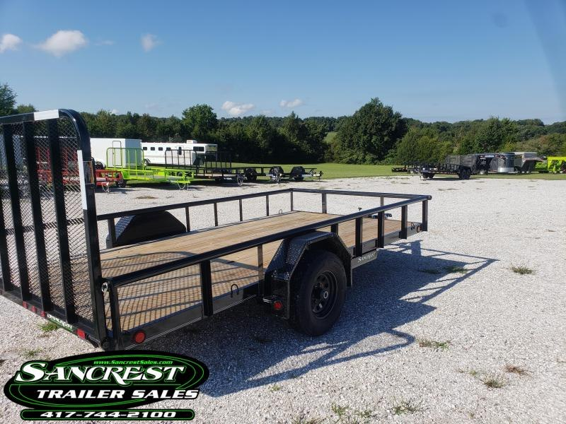 "2019 Load Trail 83"" x 14' Single Axle (4"" Channel Frame) 5200 LB AXLE....."