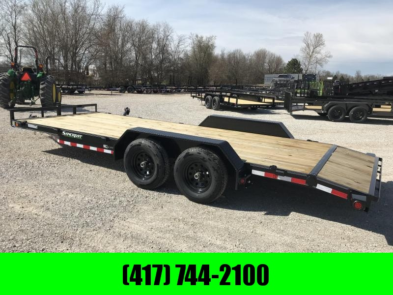 2019 LOAD TRAIL 83X20(18+2) TANDEM CAR HAULER W/ 5200 AXLES