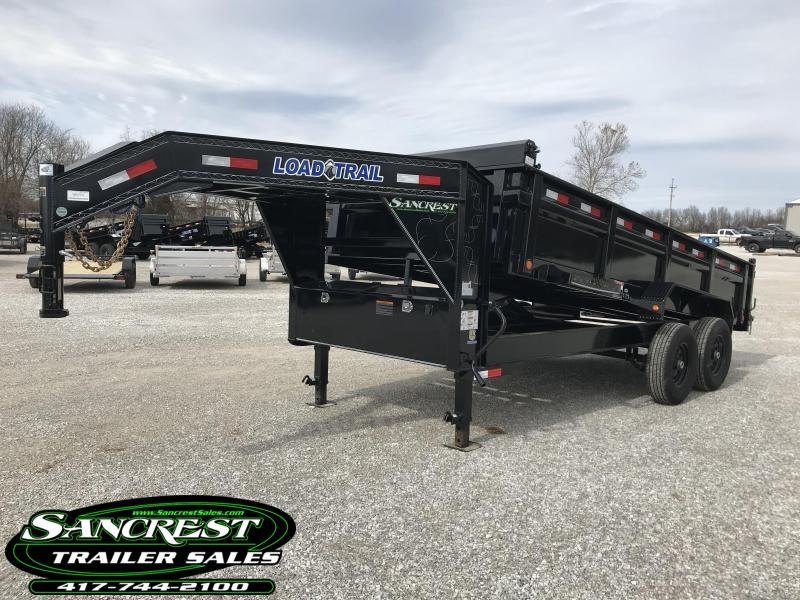 2019 Load Trail 83X16 TANDEM GOOSENECK Dump Trailer W/7K AXLES