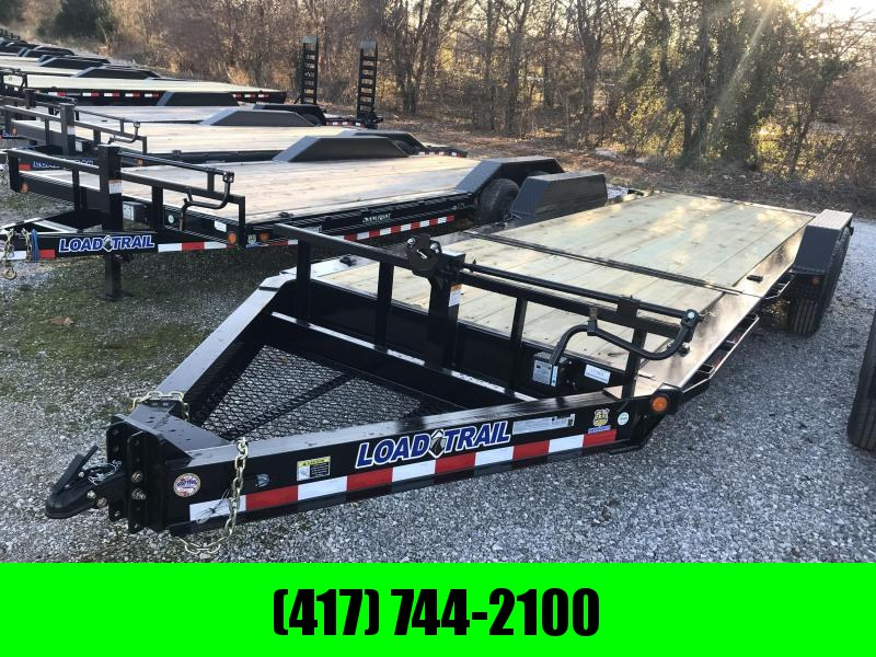 2019 Load Trail 83x22 TILT-N-GO I-BEAM Equipment Trailer W/7K AXLES