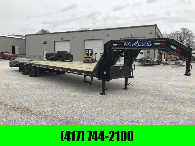 2019 Load Trail 102x32(27+5) TANDEM LO-PRO GOOSENECK W/10K AXLES & MAX RAMPS