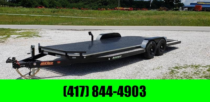 2019 MAXXD 83X20 TANDEM 10K WET BLACK N5X CAR HAULER W/ SPLIT TAIL