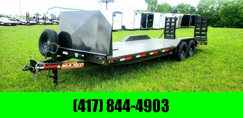 2018 MAXXD 102 X 24 BUGGY HAULER FULLY LOADED ( DRIVE OVER FENDERS