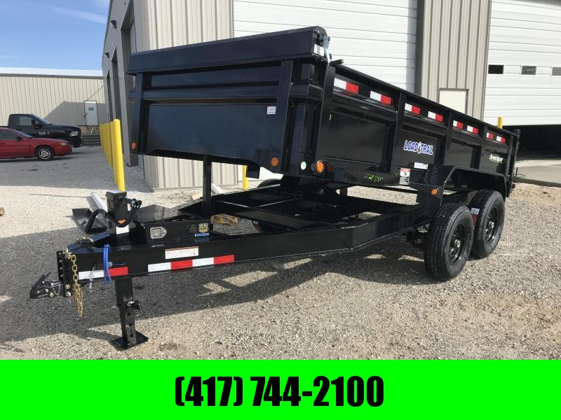 2019 Load Trail 83x14 LOW-PRO Dump Trailer w/7k axles