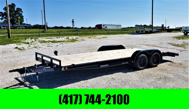 "2019 Load Trail 83x20 5"" channel CAR HAULER w/3500 axles"