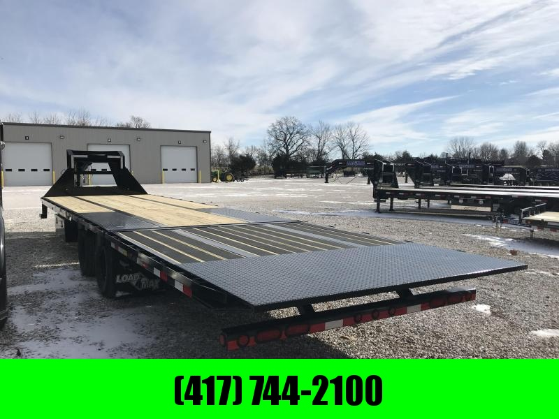 2019 Load Trail 102x32 lo-pro Gooseneck Flatbed Trailer W/HYDROTAIL(BLACKWOOD 10') AND JACKS