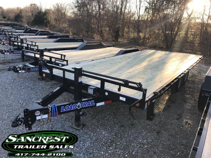 2019 Load Trail 102X20 DECKOVER EQUIPMENT Trailer W/7K AXLES