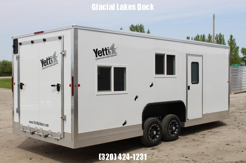 2019 Yetti Traxx Shell Toy Hauler Fish House