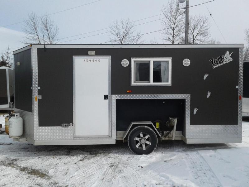 2013 Yetti 8 x 16 Custom Fish House