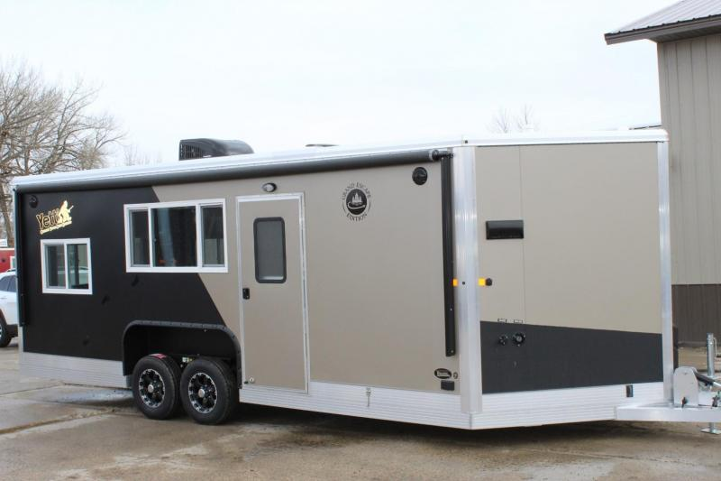 "2019 Yetti Grand Escape GE821-PKF ""Custom"" RV-Fish House"