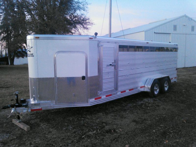 2015 Alum-Line Trailers Showmaster Livestock Trailer