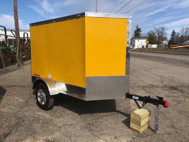 2018 Cargo Mate EHW46SA Enclosed Cargo Trailer