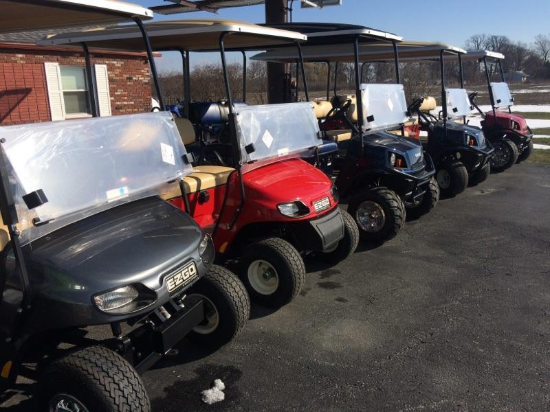 2018 E-Z-Go/Cushman Golf Carts