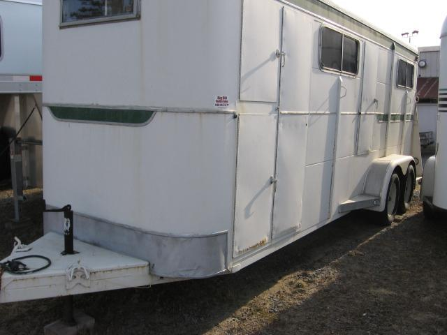 1995 Other 4H-BP Straight Head to Tail Horse Trailer