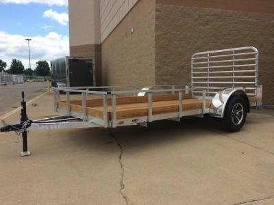 Legend Manufacturing 6x10 Aluminum Low Side Utility Trailer
