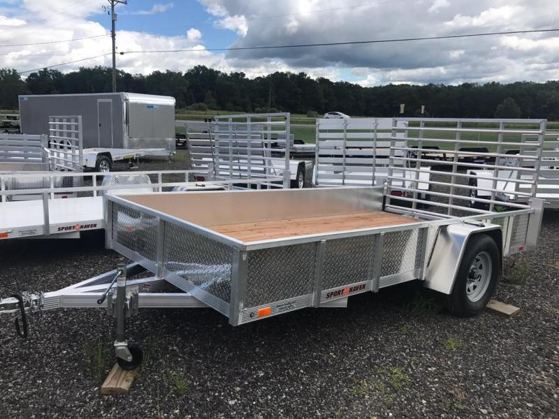 Sport Haven 6x12 Utility Trailer with Aluminum Sides
