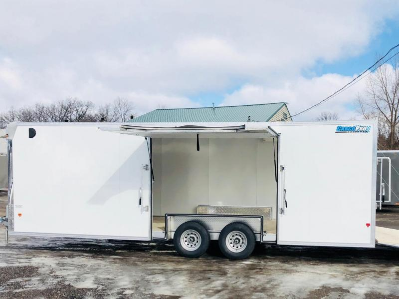 2018 Cargo Pro 8.5X24 All Aluminum Car Hauler / Racing Trailer