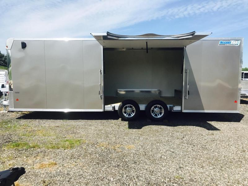 2017 CargoPro Trailers 8X24 All Aluminum Car Hauler Car / Racing Trailer