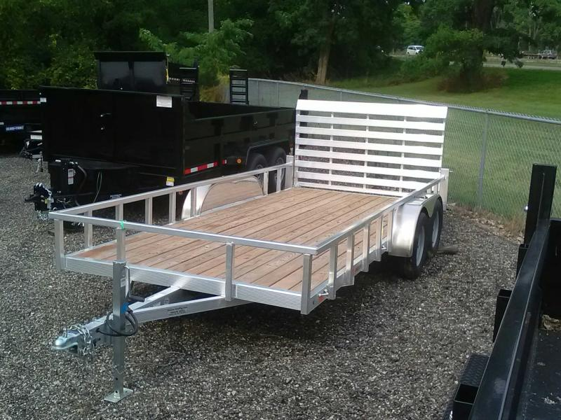 2019 Sport Haven 7x16 Aluminum Utility Trailer